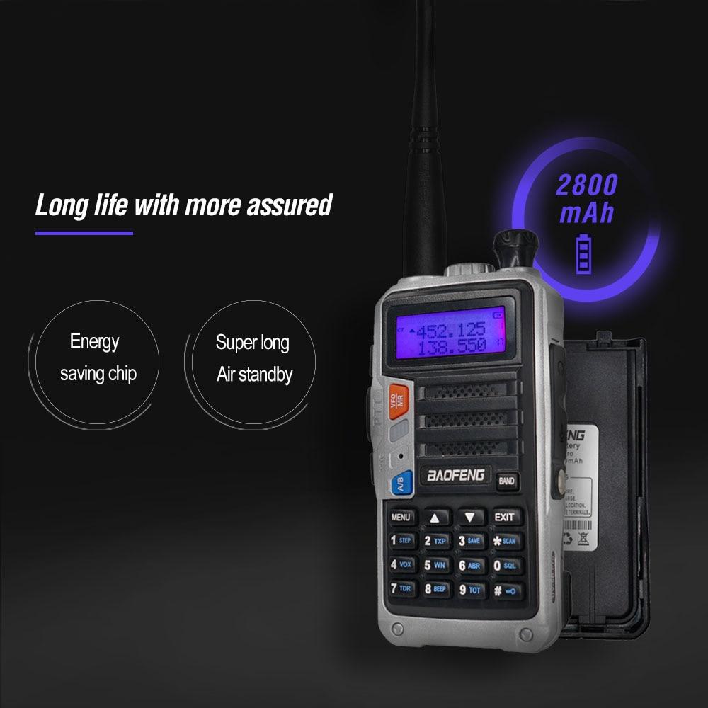 8w alta potência rádio em dois sentidos