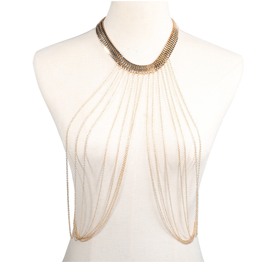 Multilayer Long Tassel Body...