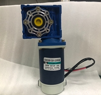 RV40 DC deceleration turbine motor 12V 24V 300W with self locking function adjustable speed DC motor CW CCW