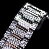 Diamond Watchband Set Watch Case Bezel DW5600 5610 Stainless Steel Unique Watch Accessories