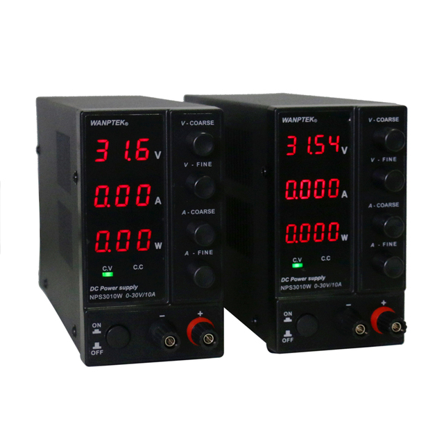 Laboratory Power Supply NPS306W/605W/3010W/1203W Mini Switching Regulated Adjustable DC Power Supply 0.1V 0.01A/0.01V 0.001A