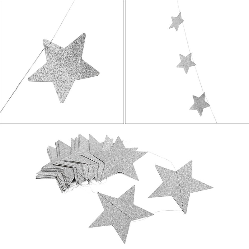 Mosquito-Net-Hanging-Decoration-Gold-Silver-Sparkling-Stars-baby-room-decor-Children-s-Rooms-Walls-Decor (4)