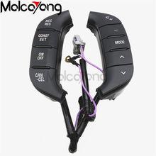 Interruptor de volante para Mitsubishi Pajero, botón de Audio, retroiluminación, 84250-PJL