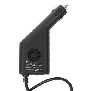 Image 3 - Mavic 2 carregador de carro duplo carregador de bateria com usb carregador de carro carregador remoto para dji mavic 2 pro zoom zangão bateria charg
