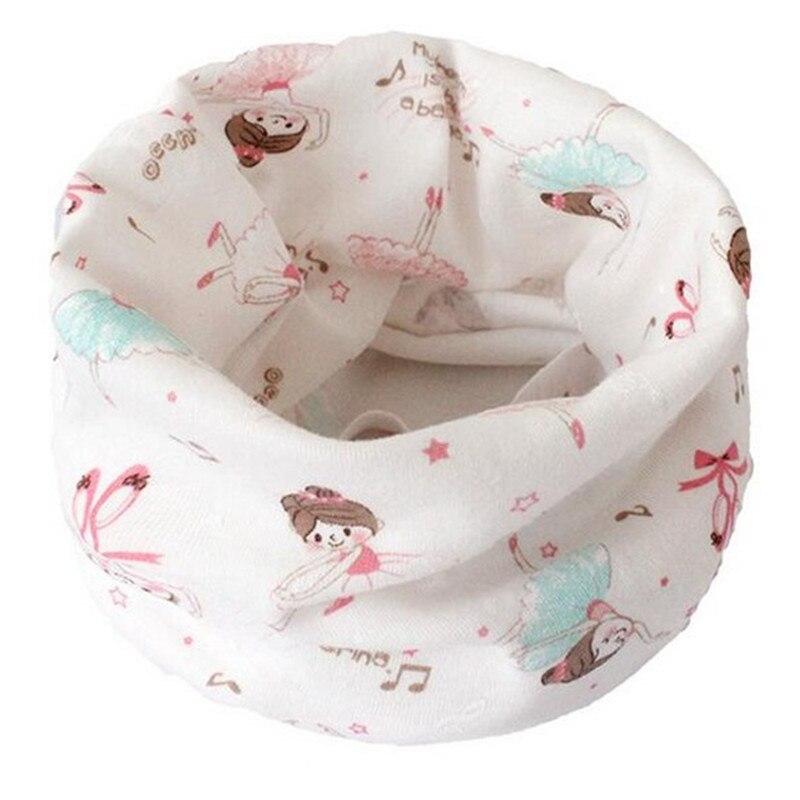 Весенний детский хлопковый шарф, теплый шарф для маленьких детей, осенне-зимние шарфы с героями мультфильмов для мальчиков и девочек, детский воротник с круглым вырезом, волшебный шейный платок - Цвет: 21