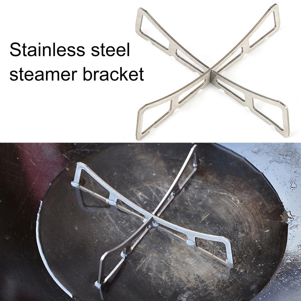 2Pcs Alcohol Stove Cross Stand Stainless Steel Sturdy Cooking Ultra-light Spirit Burner Cross Stand for Outdoor Camping