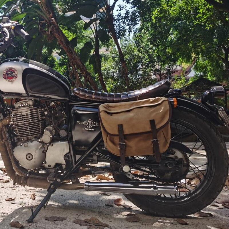 Bolsa de sillín de motocicleta impermeable, bolsas de equipaje para motocicletas, conjunto de herramientas de viaje, bolsos de bicicleta, bolso trasero para bicicleta