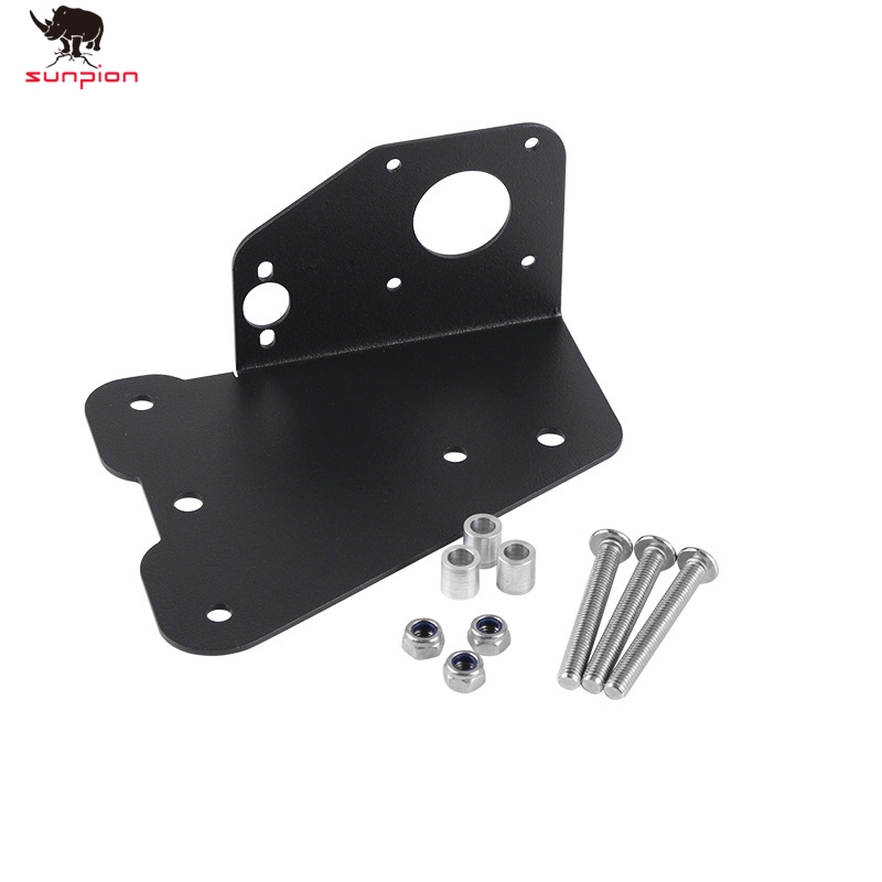 3D Printer Parts Dual Extruder Dual Z Axis Upgrade Plate Kit Aluminum Dual Extrusion Mount For <font><b>Creality</b></font> CR10 <font><b>CR10S</b></font> Ender-3 image