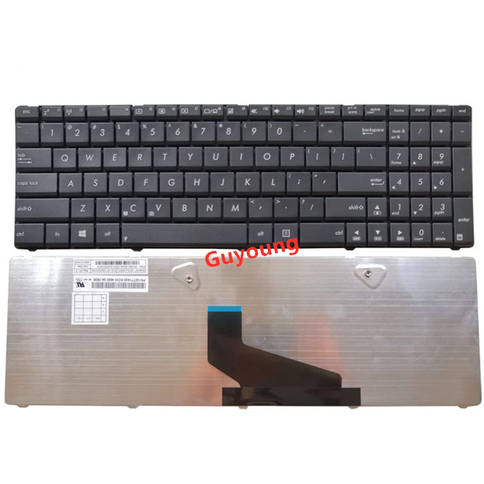 Laptop US English Keyboard For ASUS G72 X53 X54H K53 A53 A52J K52N G51V G53 N61 N50 N51 N60 U50 K55D G60 F50S U53