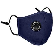 Пылезащитный дышащий дыхательный рот анти дымка открытый хлопок маска для лица с изображением рта-Муфельная Антибактериальный угольный фильтр