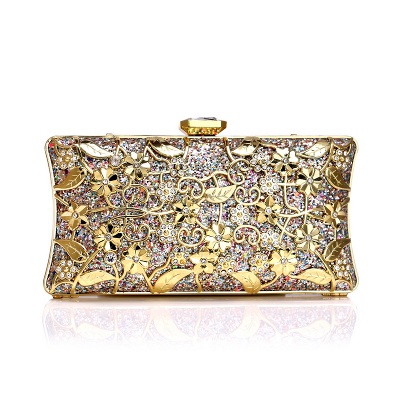 Surplus Power 2019 New Style Evening Bag Women's Europe And America Luxury Metal Louis Vuitton