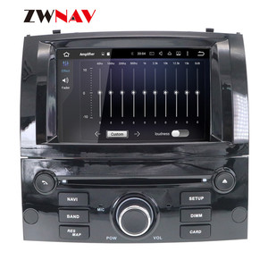 Image 4 - Android 10 DSP IPS HD Screen For Peugeot 407 2004 2005 2006 2007 2008 2009 2010 Car GPS Navi Radio Screen android Display Black