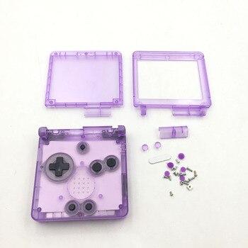 Carcasa de repuesto para Gameboy Advance para G-B-A SP consolas de juegos funda protectora para piezas de reparación Accesorios