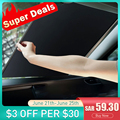 Солнцезащитный козырек Baseus для лобового стекла автомобиля, автоматический выдвижной козырек от солнца для лобового стекла автомобиля