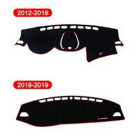 פלוס uv כיסוי לוח המחוונים רכב מאטס להימנע אור רפידות Anti-UV Case אביזרים LHD עבור Changan CS35 2012 2013 2014 2015 2016 2018 2019 פלוס (5)