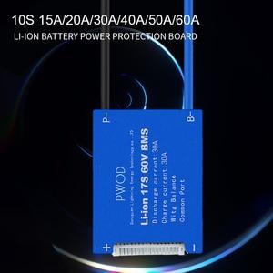 Image 2 - סוללה bms 3,6 V 3,7 V 13S 48V BMS 18650 15A 20A 30A 40A 60A BMS עבור 48V e אופניים Li batterie ionen