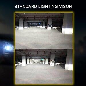 Image 2 - CNSUNNYLIGHT 70 w/para LED H7 H11 H8 reflektor samochodowy 9005 9006 H4 Hi/Lo bi led żarówki H1 500% jaśniejsze Auto samochody światła 6000K