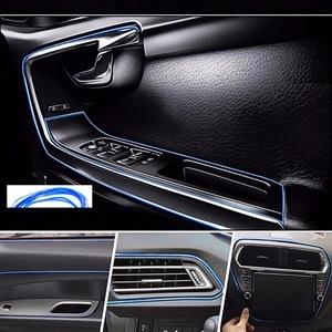 Image 5 - 5M Interior Decoration Car Styling For Abarth 500 Ssangyong Kyron Rexton Korando Actyon Lifan x60 Chery Tiggo Saab Accessories