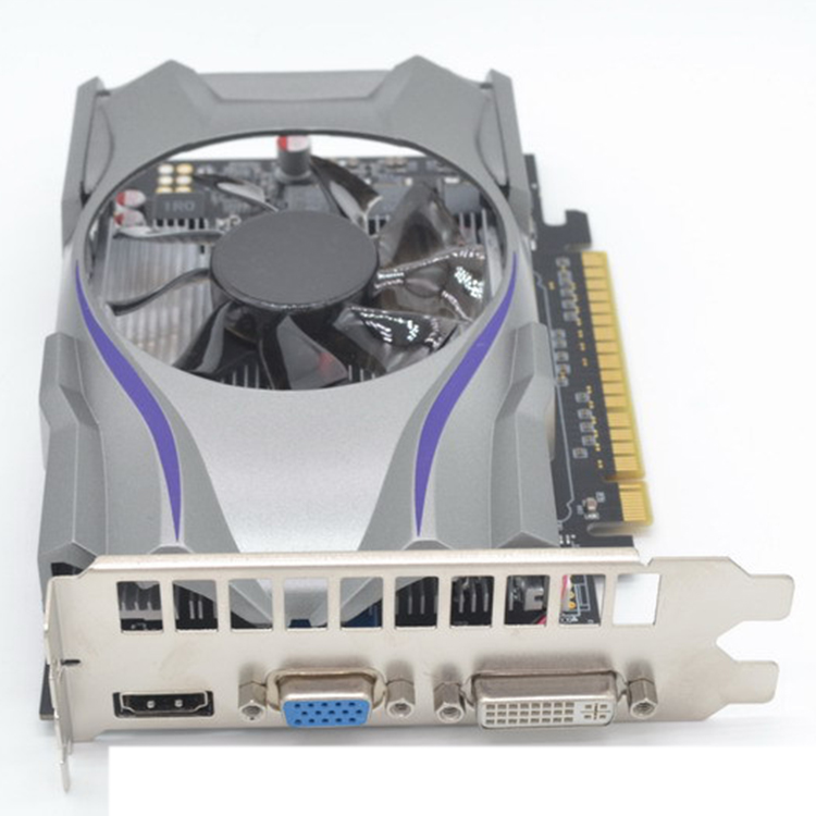 GT730 GDDR5 1GB 128Bit Express Game Video Card Ie Card BTC Mining Video Card with a Cooler Fan for GeForce 4