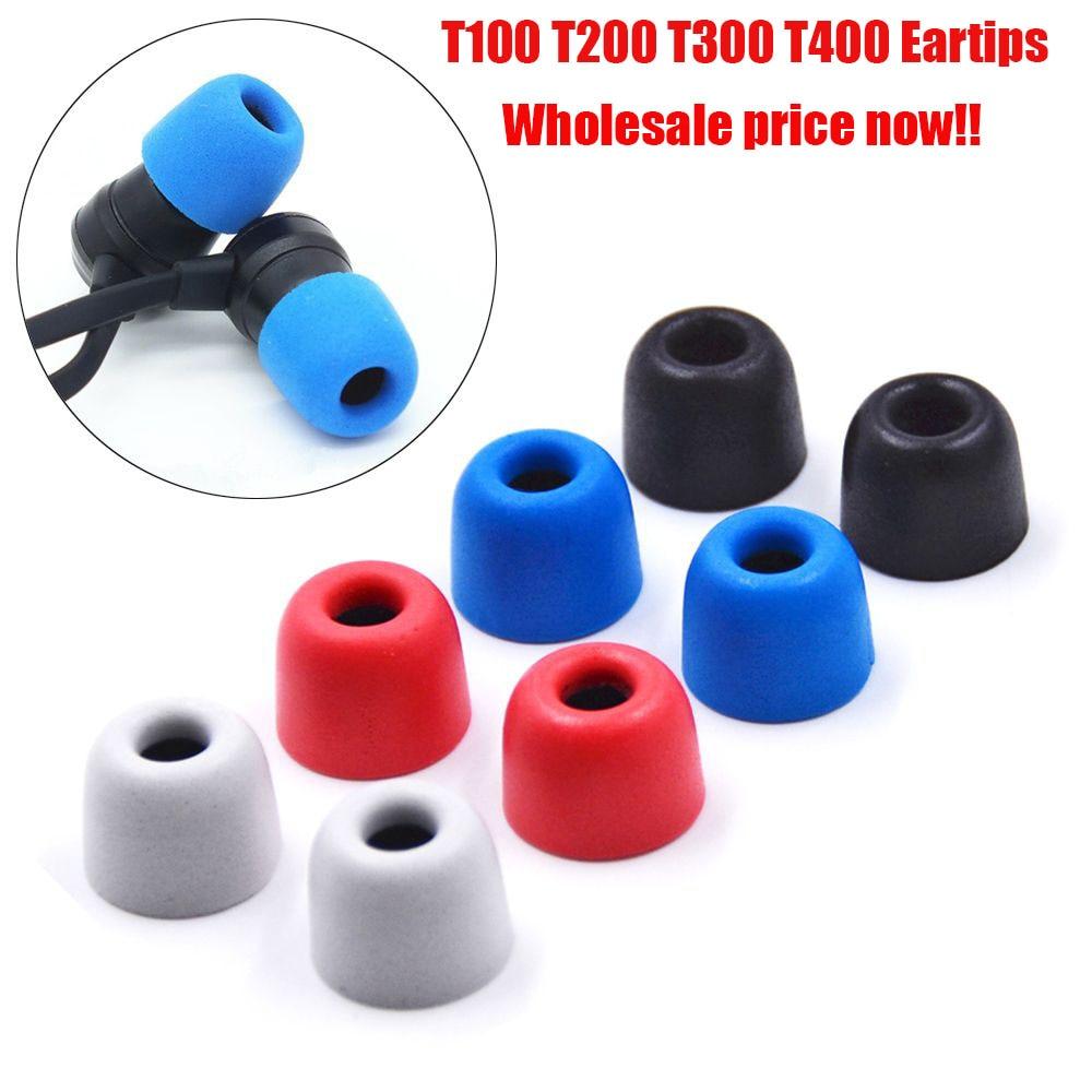 2pcs Earmuff Earphone Tips Foam Sponge Ear Pads For Headphones Noise Isolating Earplug Caliber Headset Accessories