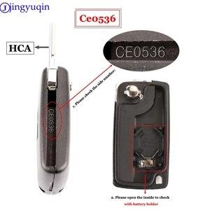 Image 4 - jingyuqin 10p 434Mhz ASK FSK For Peugeot 107 207 307 308 407 607 For Citroen C2 C3 C4 C5 C6 C8 Xsara Picasso CE0523 Ce0536