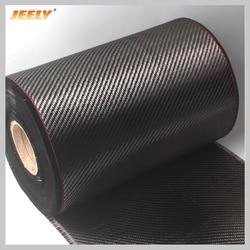 31 см труба из углеродистого волокна 3K 200 г углеродного волокна ткань саржевого переплетения для автомобиля Запчасти спортивные оборудовани...
