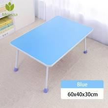 Wielofunkcyjne składane biurko na laptopa śniadanie taca na łóżko regulowany stół składany stojak na notebooka stojak na biurko tanie tanio Current Laptop biurko As shown China 60*40*29cm Drewniane MAHOGANY