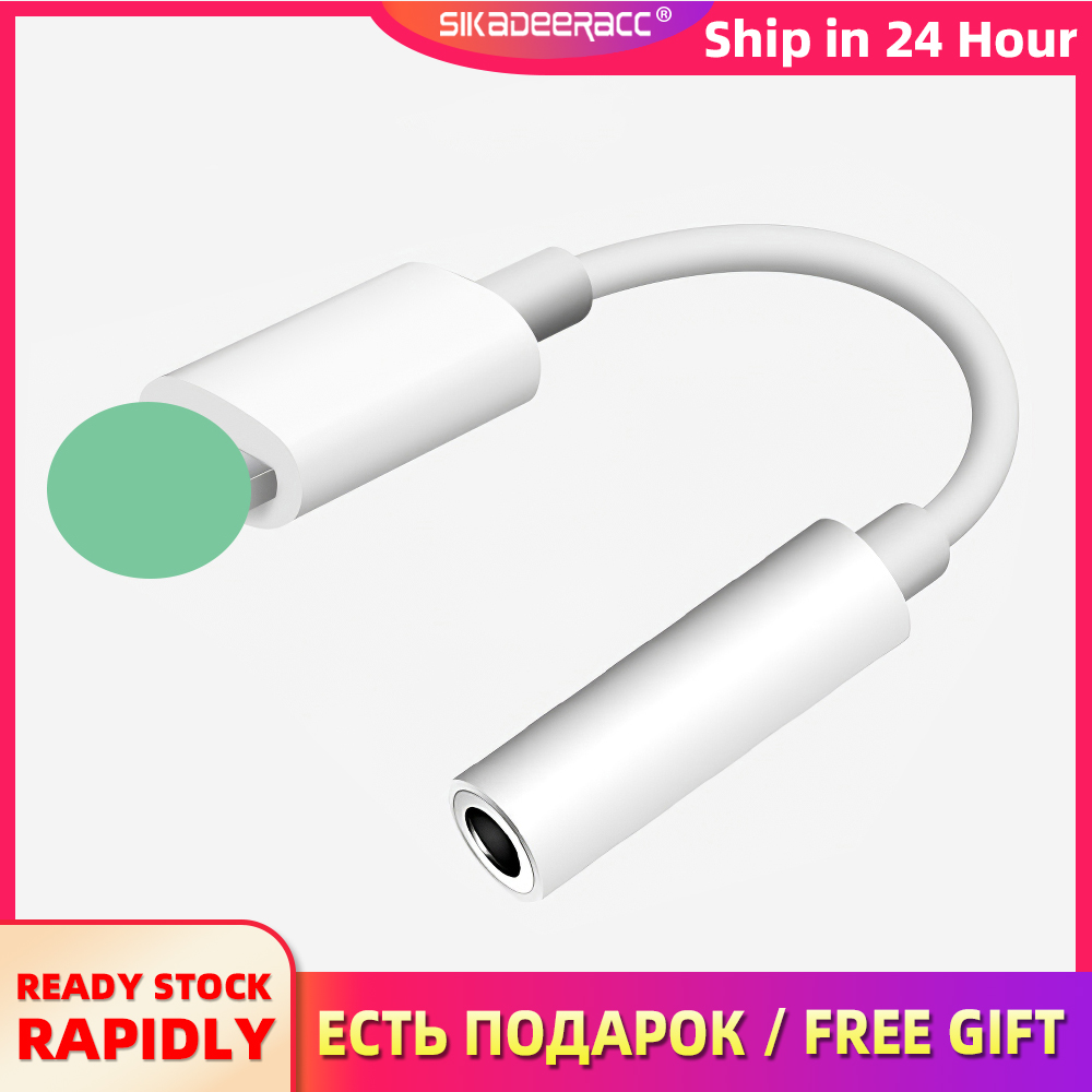 Adapter-Charging Cable-Converter Headphone Splitter Headsets Audio iPhone 7 8-Plus  title=
