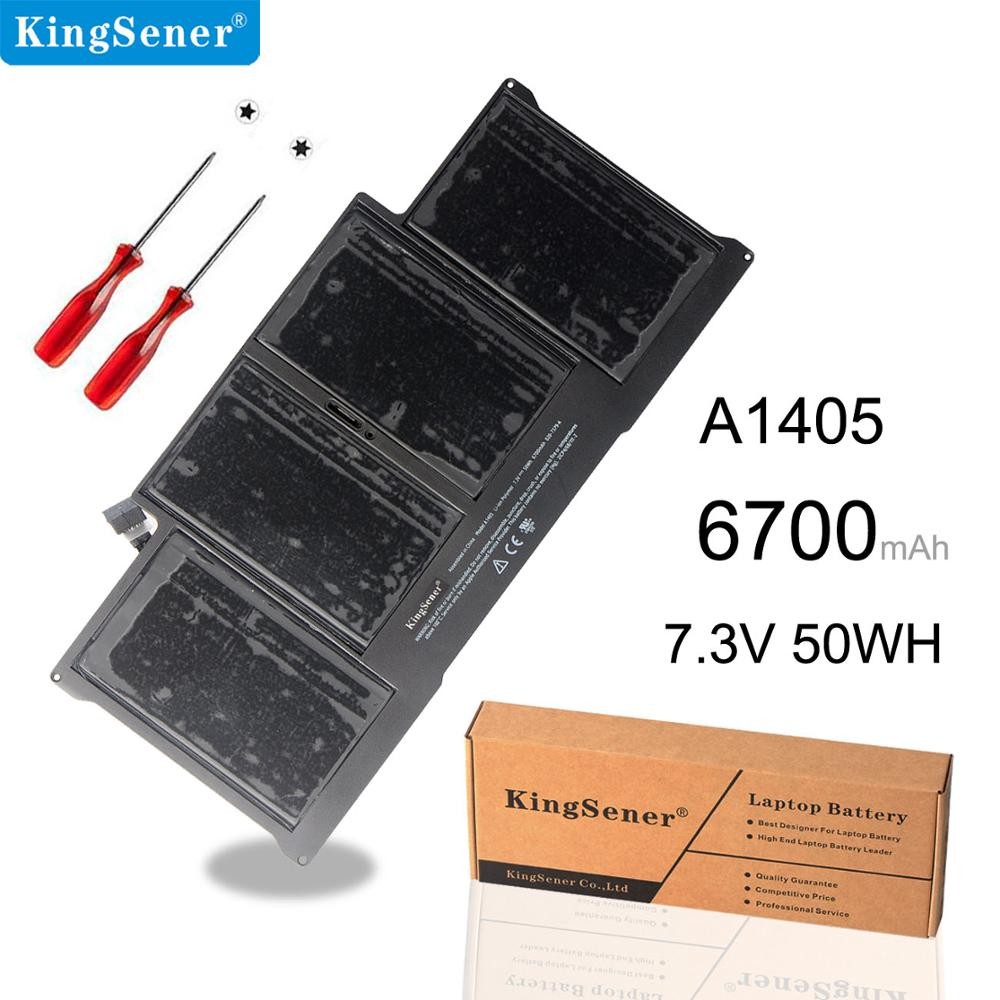 KingSener New A1405 Laptop <font><b>Battery</b></font> for Apple <font><b>MacBook</b></font> <font><b>Pro</b></font> <font><b>13</b></font>