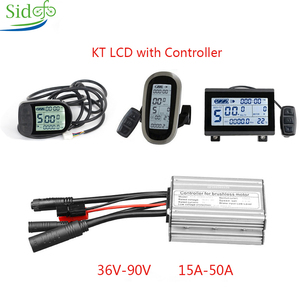 KT LC3/LCD5/LCD6 Display eBike KT Controller 36V/48V 250W1000W/3000W Kit For Bicycle Accessories DC Controller Electric Scooter