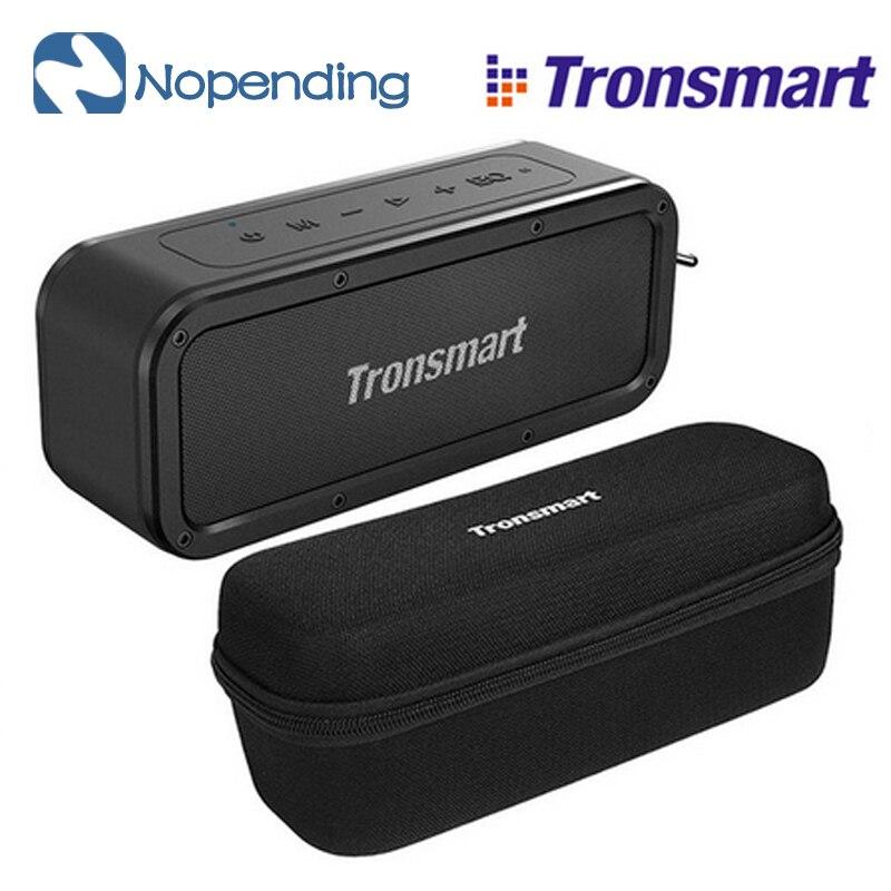 Tronsmart Force Bluetooth haut-parleur Bluetooth 5.0 haut-parleur Portable IPX7 étanche 40W haut-parleurs 15H avec Assistant vocal pour téléphone