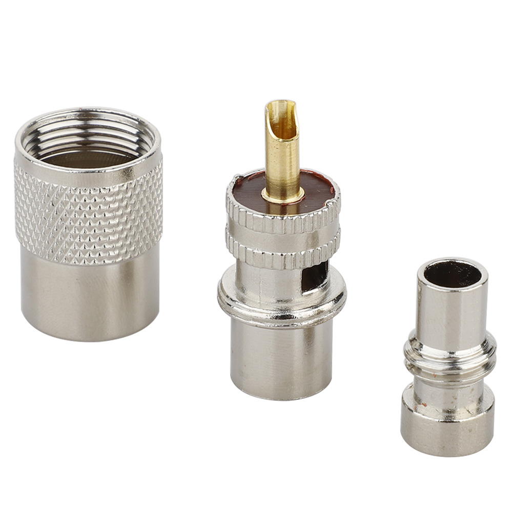 RF Adapter UHF-SMA SMA Female Male To UHF Male PL259 SO239 Connector RF Coax Coaxial Adapter