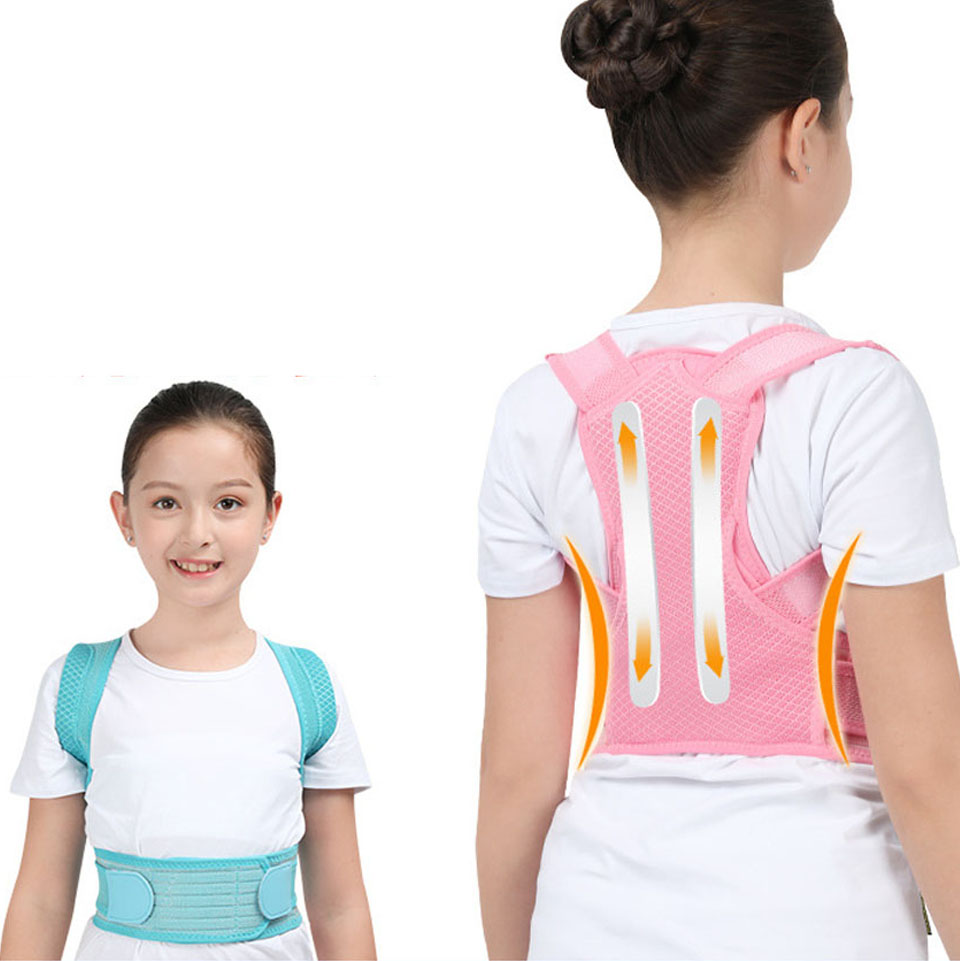 Profesional Child Adjustable Back Chest Support Belt Posture Corrector Shoulder Brace Tape Posture Correct Orthotics Health Care