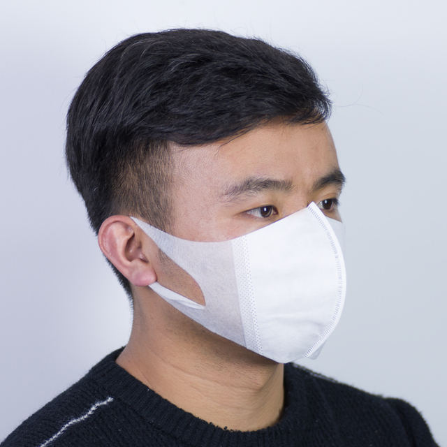 In Stock 50pcs Disposable Masks For Adult PM2.5 Filter Face Mask Mouth Cover Anti Dust Respirator Flu Protect Fast Shipping 1