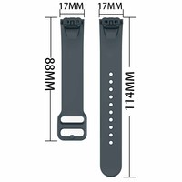 soft tpu Strap For Samsung Galaxy Fit SM-R370 Smart Watch Band Soft TPU Bracelet Replacement Strap Watch Accessories (5)