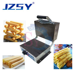 Wholesale price commercial electric heating hand crispy egg biscuit roll making machine/manual Ice cream cone skin snack maker