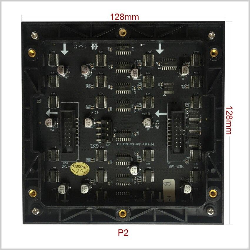 P2 RGB Pixel Panel HD Display 64x64 Dot Matrix P2 Smd Rgb Led Module