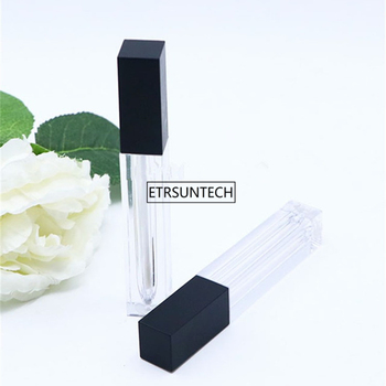 6ml Lipgloss Plastic Box Containers Empty Clear Lipgloss Tube Eyeliner Eyelash Container Mini Lip Gloss Split Bottle F974