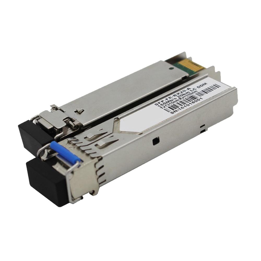 Бесплатная доставка, 155 МБ/с./с, многомодовый приемопередатчик SFP, оптическое двойное волокно, 2 км 850нм LC DDM