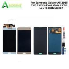 Pantalla LCD Alesser para Samsung Galaxy A5 2015, A500, A500F, A500M, A500Y, A500FU, pantalla táctil LCD, digitalizador + herramientas + adhesivo