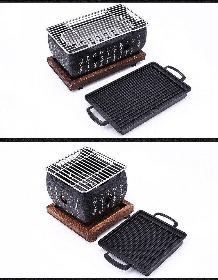 japonês carvão grelhador grelhador japonês fogões de
