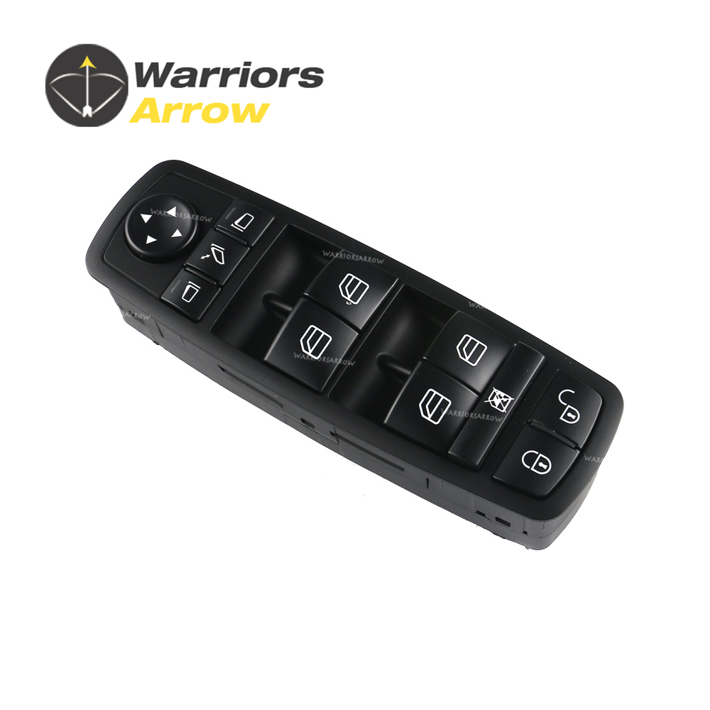 <font><b>1698206710</b></font> For Mercedes-Benz A/B-Class W169 2004-2012 W245 2005-2011 Front Left Electric Power Master Window Switch image