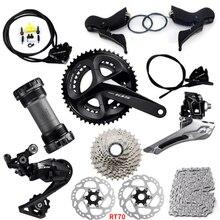 Shimano 105 R7020 R7070 11ไฮดรอลิกเบรคGroupsetแผนที่จักรยานGroupset RT700โรเตอร์