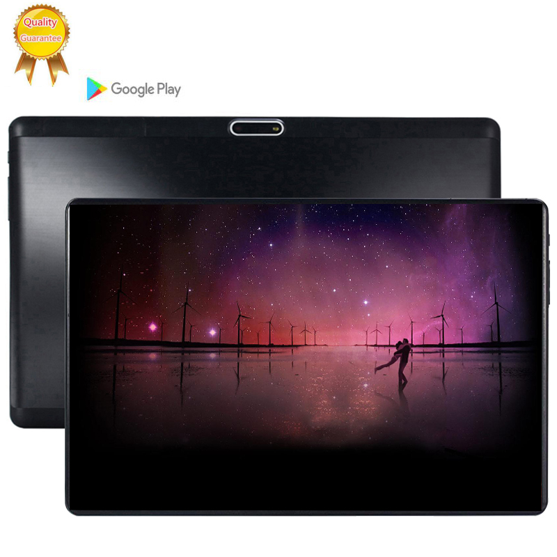 2020 10.1 Inch Tablet PC Android 9.0 6GB RAM 64GB ROM Octa Core 8 Cores Dual Cameras 5.0MP 1280 800 IPS Phone Tablets MTK6753