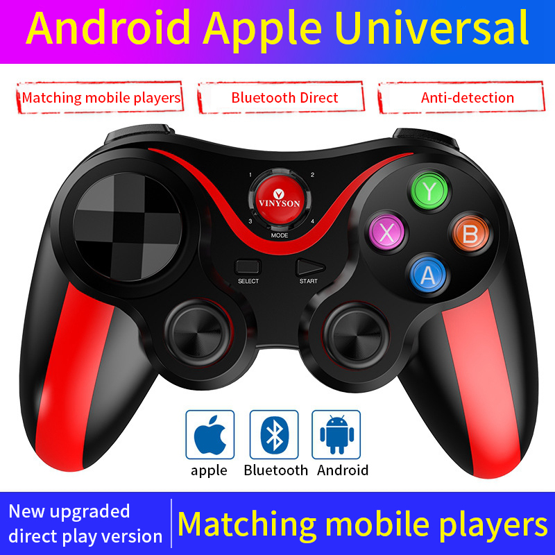 Bluetooth Wireless Gamepad Trigger Pubg Mobile Controller Joystick For Android IOS Tv Box For PC Wireless Joystick PUBG Gamepad