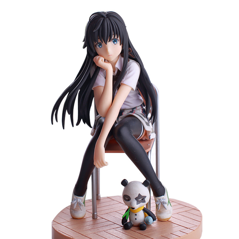 15cm Anime Action Figure Toys My Teen Romantic Comedy PVC Toy New Collection Anime Figure Toys for Children Birthday Gift image