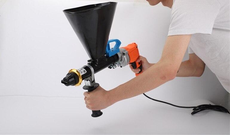 Hand-held Wall Slot Grouting Machine Electric Mortar Grouting Caulking Gun