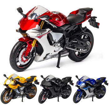 1:12 YZF R1 Motorcycle Model Die Cast Alloy Toy Motorbike Motorcycle Racing Car Models Cars Toys For Children Collectible 1