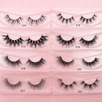 Visofree Mink Eyelashes Natural False Eyelashes Fake Eye Lashes Long Makeup 3D Mink Lashes Extension Eyelash Makeup for Beauty