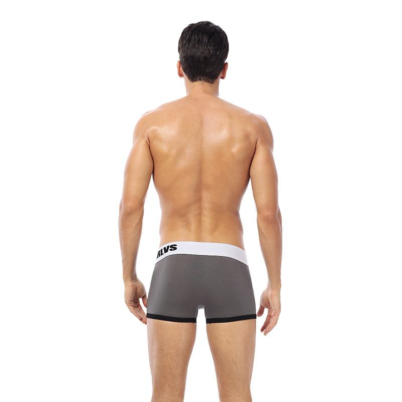 Men's Boxer Underwear Fashion Spell Color Offset Printing Letter Underwear Men's Shorts Breathable Men's Underwear